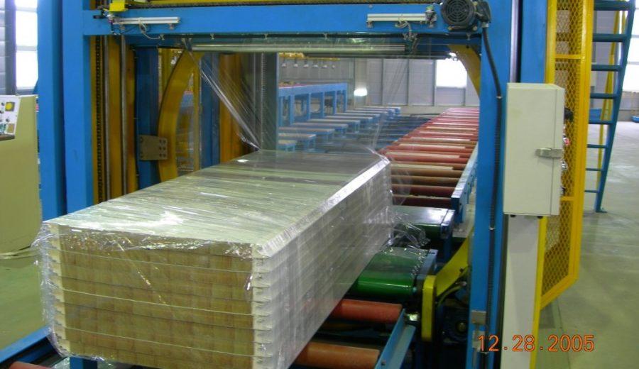 EPS horizontal wrapping machine